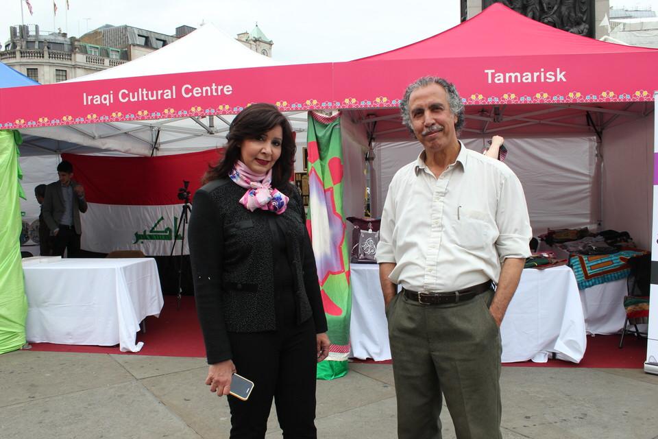 Mrs-Zainab-Al-Farhan-Mr.Sadiq-TomaIraqi-Artist