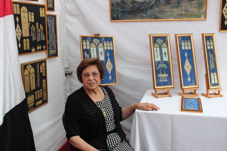 Ms.Najat-Baki-Iraqi-Artist